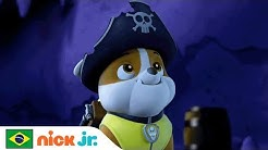 Aventuras na Caverna Pirata ?☠️  | Patrulha Canina | Nick Jr. | Brazil | Português