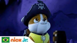 Aventuras Na Caverna Pirata 🏴☠️ | Patrulha Canina | Nick Jr. | Brazil | Português