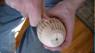 My Chip Carving 130 - Large Basswood Egg
