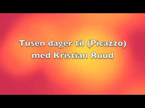 Tusen dager til (Picazzo)  Cover med Kristian Ruud