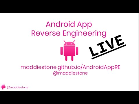 Android App Reverse Engineering LIVE! - Part 1