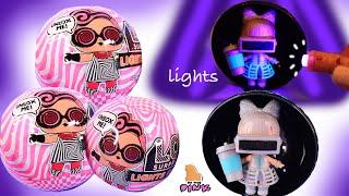 КУКЛЫ ЛОЛ МЕНЯЮТ ЦВЕТ В ТЕМНОТЕ Glow In The Dark Lol Surprise Glitter Dolls - Обзор  Распаковка