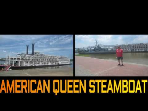 AMERICAN QUEEN STEAMBOAT WORLDS LARGEST STEAMBOAT