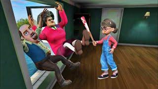 Scary Teacher 3D Prank - 1000 Cách troll Cô Giáo của Tuấn Ngáo Ngơ TV Gameplay ( Ios / Android )