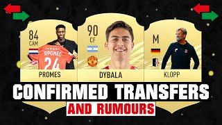 Transfer NEWS! 😱🔥   ft. Dybala, Klopp and Promes!