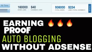 Auto Blogging payment Earning PROOF🔥 | Must Watch - Alld2hell