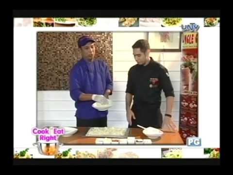 Download Uncle Cheffy panizza and signature salad