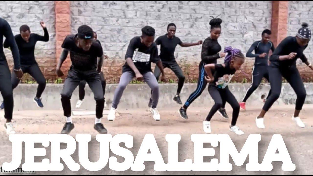 Jerusalema Dance (Afro Remix) - Master KG ft Burna Boy & Nomcebo (Official dance video). Best vi