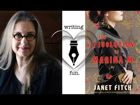 Writing Fun | Ep. 213 : The Revolution of Marina M. with Janet Fitch