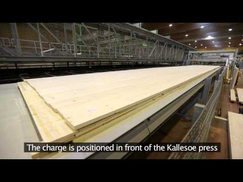 CLT production line from Kallesoe Machinery