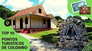 10 pontos turisticos mais visitados de Colombo