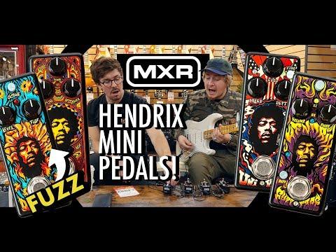 MXR Hendrix Mini FUZZ Pedals! Demo/Review