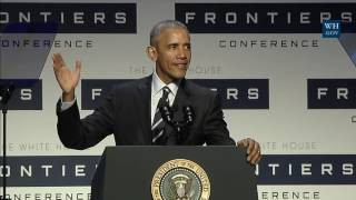 White House Frontiers Conference thumbnail