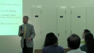 Raising a Successful Child - A talk by Professor Steven Pfeiffer