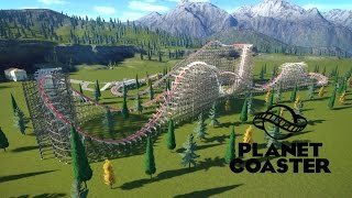 seggins productions my first rmc planet coaster timelapse
