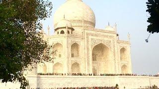 Taj Mahal and the Oberoi Amarvilas, Agra