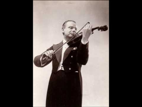 Zino Francescatti - Vitali Chaconne in G minor