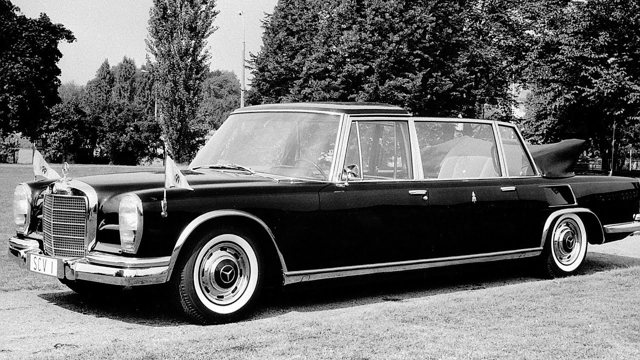 1965 mercedes benz 600 pullman landaulet papal car youtube for Mercedes benz 600s