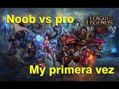 League of legends - Mi primera vez - Penta kill - Noob vs pro