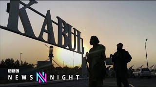 Afghanistan: British trained intelligence unit officers 'abandoned' - BBC Newsnight