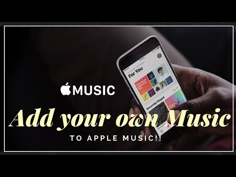 Add your own songs to Apple Music!