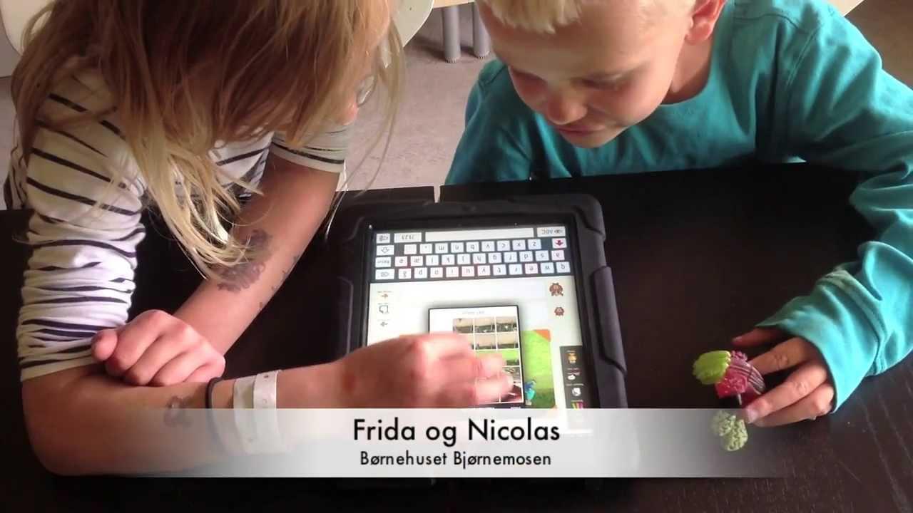 At skrive sig til læsning i børnehaven