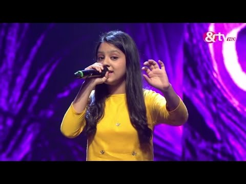 Srishti Rawat - O Palanhare -  Liveshows - Episode 21 - The Voice India Kids