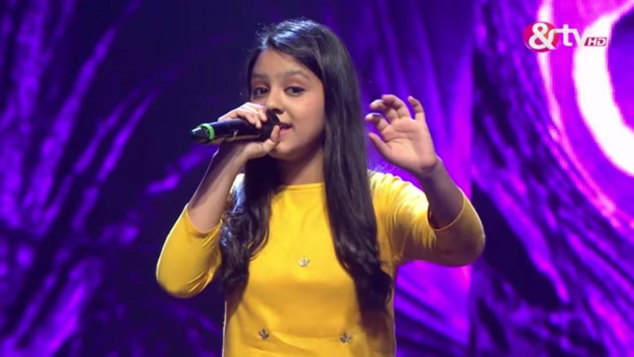 Srishti Rawat - O Palanhare - Liveshows - Episode 21 - The Voice India Kids