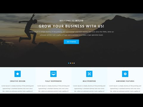 #How To Create A Website Template Part1 HTML