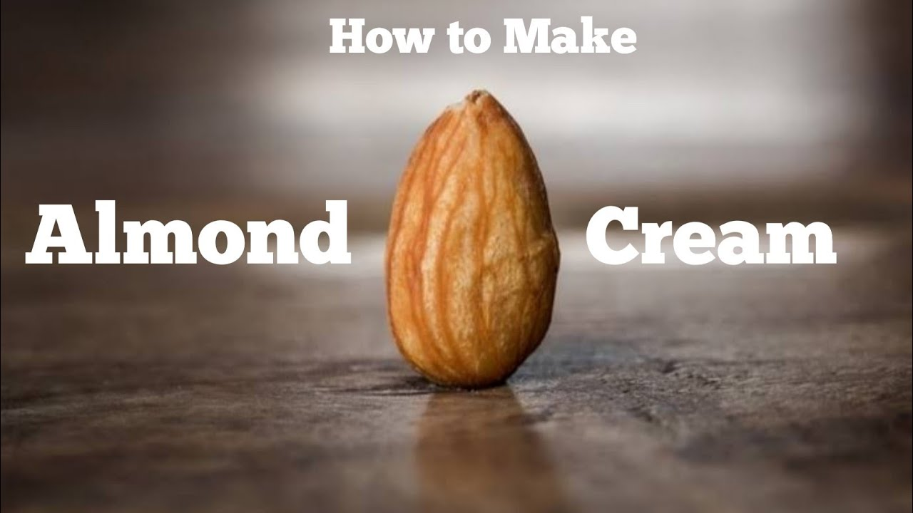 Download How to Make Almond Cream | Skin Whitening and Anti-Aging | At Home