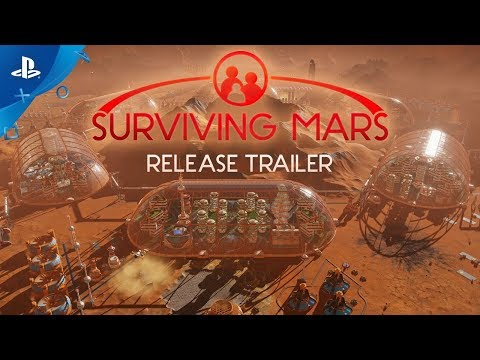 Surviving Mars - Launch Trailer | PS4