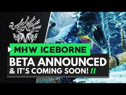 Monster Hunter World Iceborne | BETA COMING SOON!