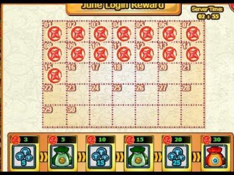 June Login Reward dia 15 - Ninja Saga