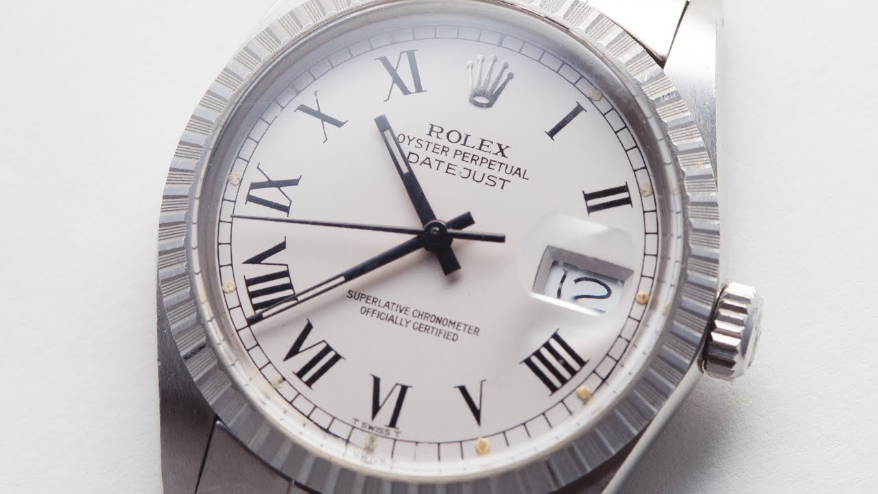 73c66a250582 A Rolex Datejust w  a Buckley Dial