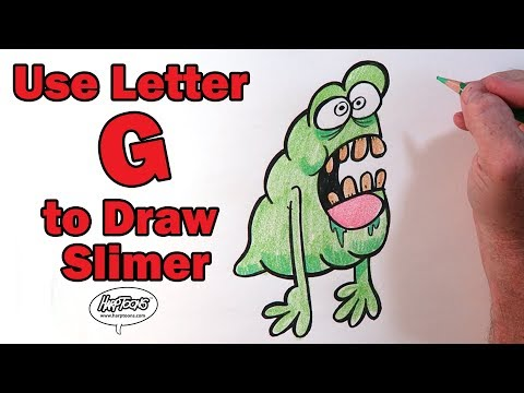 How to Draw Slimer - Harptoons
