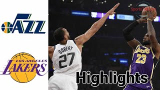 Jazz vs Lakers HIGHLIGHTS Full Game + OT | NBA April 17