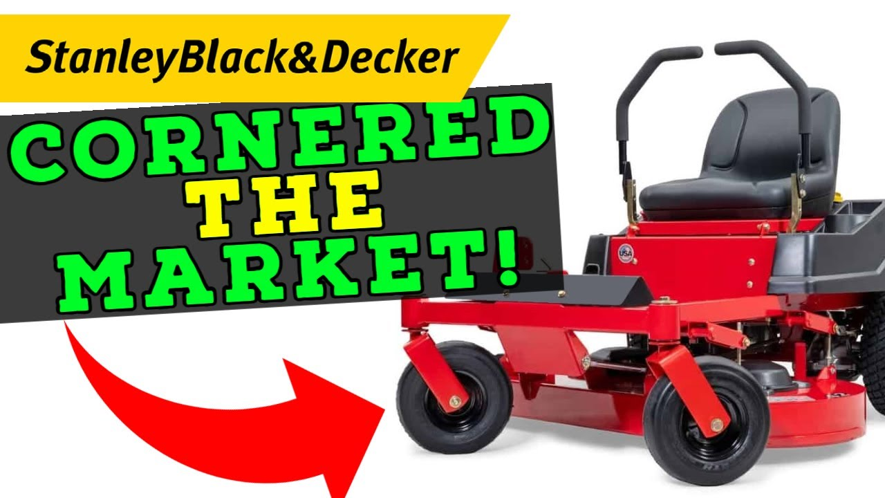 Stanley Black & Decker Paid $375 Million for This Company and May Have Cornered the ZT Mower Market