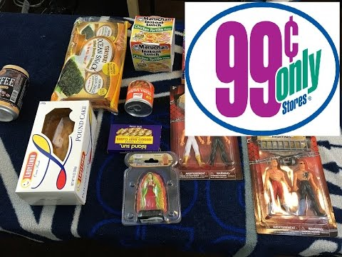 99 cent Only Challenge!! Chainsaws,Virgin Mary,seaweed and Clams!! Crazy!!