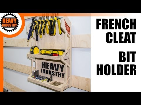 French Cleat Bit Holder // Bit Halter