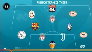 Guess team by Club | Euro 2020 Quiz