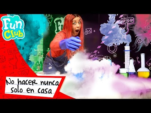 EXPERIMENTOS con HIELO SECO con PATTY DRAGONA ❄️   Fun Club