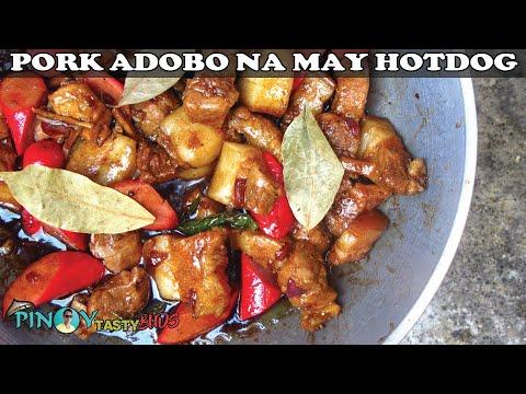 How To Cook Pork Adobo Na May Hotdog