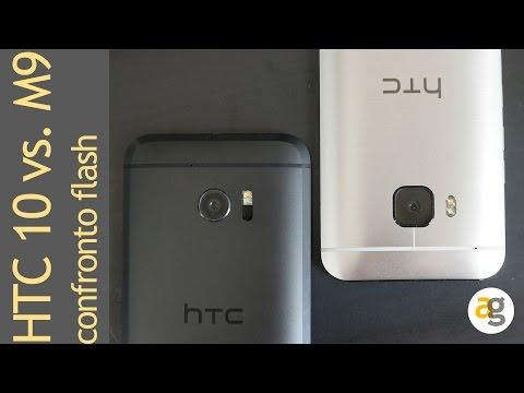 HTC 10 versus HTC M9. Sense contro sense. Video flash
