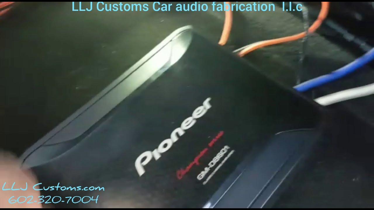 2014-2018 GM silverado/Sierra BOSE amplifier byp T-harness on