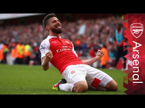 Olivier Giroud - Top-5 Premier League goals