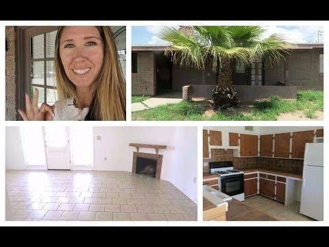 Vlog & New House Tour   Desert Home Making   Day 1