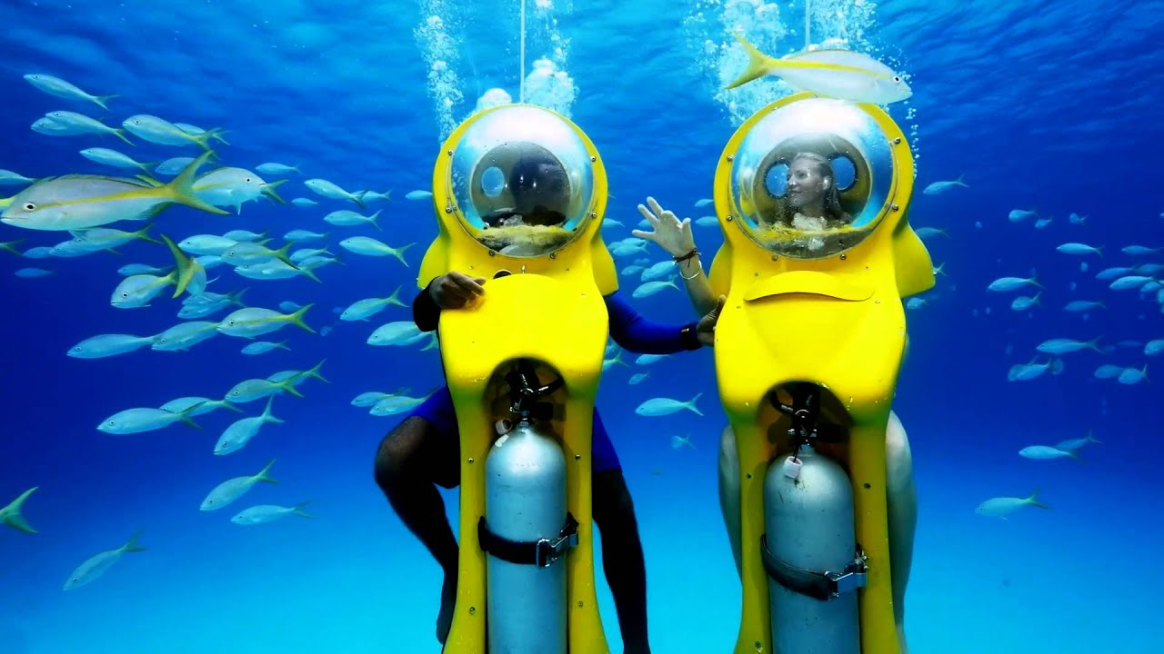SUBs Bahamas - Stuart Cove's - Personal Underwater Submarine Tours