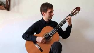 Agustin Barrios - Vals 4 / Уроки гитары обучение Санкт-Петербург