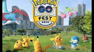 Pokemon Go Fest 2019 Yokohama Live