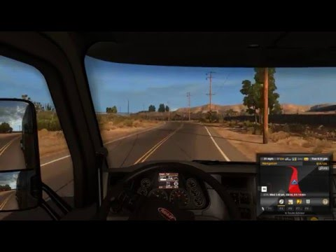 American Truck Simulator: Episode #2 From Bakerstown to El Centro